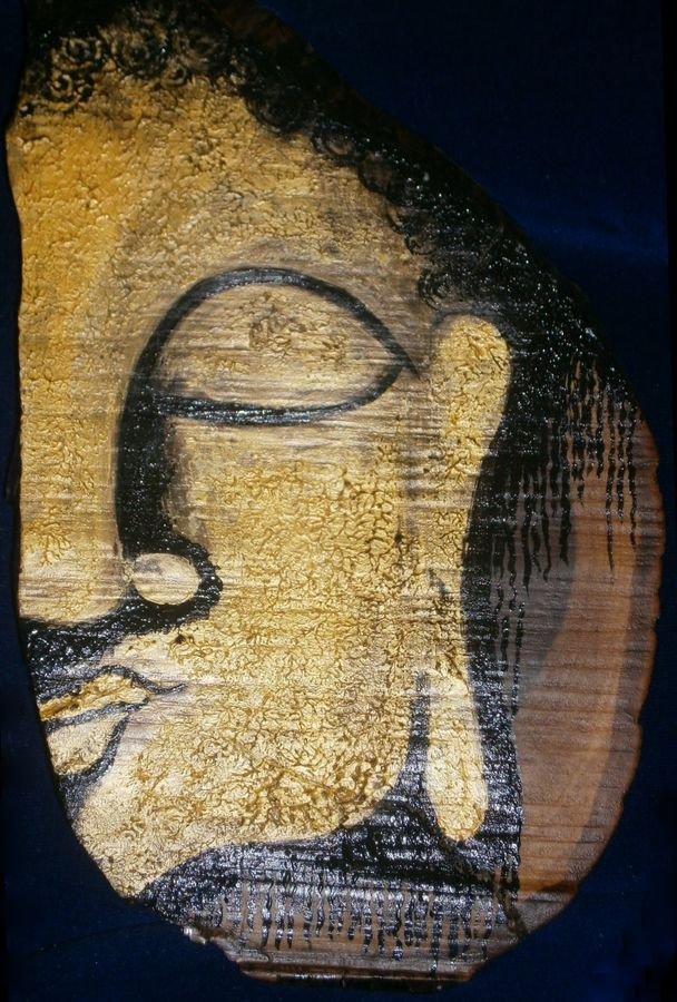 buddha, 11 x 16 inch, purvii parekh,paintings for living room,portrait paintings,paintings for hotel,paintings for kitchen,ply board,oil,11x16inch,GAL034008461