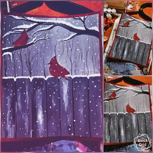 winter world, 11 x 13 inch, suhail lone,paintings,landscape paintings,paintings for bedroom,ivory sheet,acrylic color,11x13inch,GAL035948485
