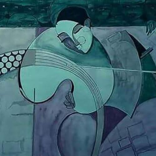 harmony, 24 x 20 inch, rajesh chahare,paintings,modern art paintings,paintings for bedroom,thick paper,poster color,24x20inch,GAL036788639