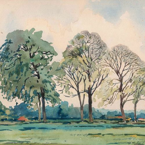 pack of trees, 15 x 10 inch, rahul singh,paintings,nature paintings,paintings for living room,renaissance watercolor paper,watercolor,15x10inch,GAL037088713Nature,environment,Beauty,scenery,greenery
