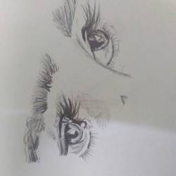 eyes, 30 x 15 inch, ananya saxena,paintings for office,modern drawings,canvas,pencil color,30x15inch,GAL038888913