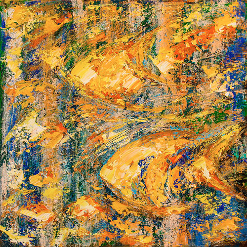 flow of dreams 6, 18 x 18 inch, gurdish pannu,paintings,abstract paintings,paintings for living room,canvas,acrylic color,18x18inch,GAL025378942