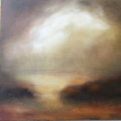 silence before the storm. , 24 x 18 inch, vandana mehta,paintings,contemporary paintings,paintings for living room,canvas,oil,24x18inch,GAL040239223