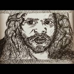 deceived, 8 x 6 inch, devender kumar,drawings,expressionist drawings,paintings for living room,thick paper,graphite pencil,8x6inch,GAL020059394
