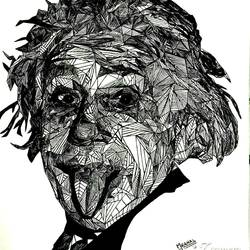 albert einstein, 8 x 12 inch, mranal  maheshwari ,paintings for living room,figurative drawings,fine art drawings,drawing paper,pen color,8x12inch,GAL041269429