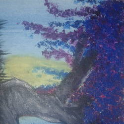 dream tree, 8 x 10 inch, chethan  m,paintings,nature paintings,paintings for living room,canvas,watercolor,8x10inch,GAL041679530Nature,environment,Beauty,scenery,greenery