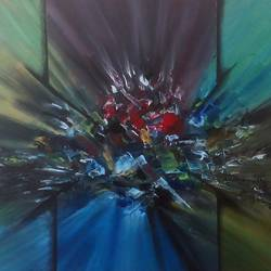 dazzling stones, 22 x 16 inch, tripati dey,paintings,abstract paintings,paintings for living room,canvas,acrylic color,22x16inch,GAL042189812