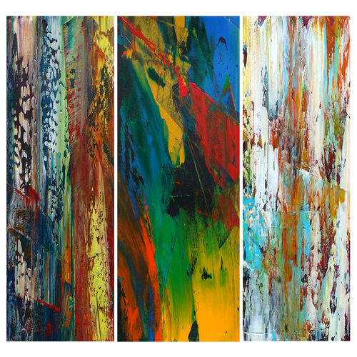 untitled 33, 33 x 11 inch, abhishek kumar,paintings,abstract paintings,paintings for living room,fabriano sheet,acrylic color,33x11inch,GAL07879840