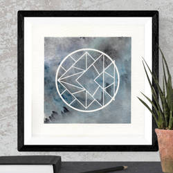 minimalistic art, 12 x 12 inch, mahak agrawal,paintings,abstract paintings,paintings for office,renaissance watercolor paper,mixed media,12x12inch,GAL043479866