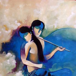 love, 15 x 23 inch, kiran s,radha krishna paintings,paintings for bedroom,paintings for dining room,paintings for living room,paintings for office,paintings for hotel,paintings for hospital,hardboard,acrylic color,15x23inch,love,radha,krishna,radhakrishna,flute,lord,religious,couple,,GAL043569891,krishna,Lord krishna,krushna,radha krushna,flute,peacock feather,melody,peace,religious,god,love,romance
