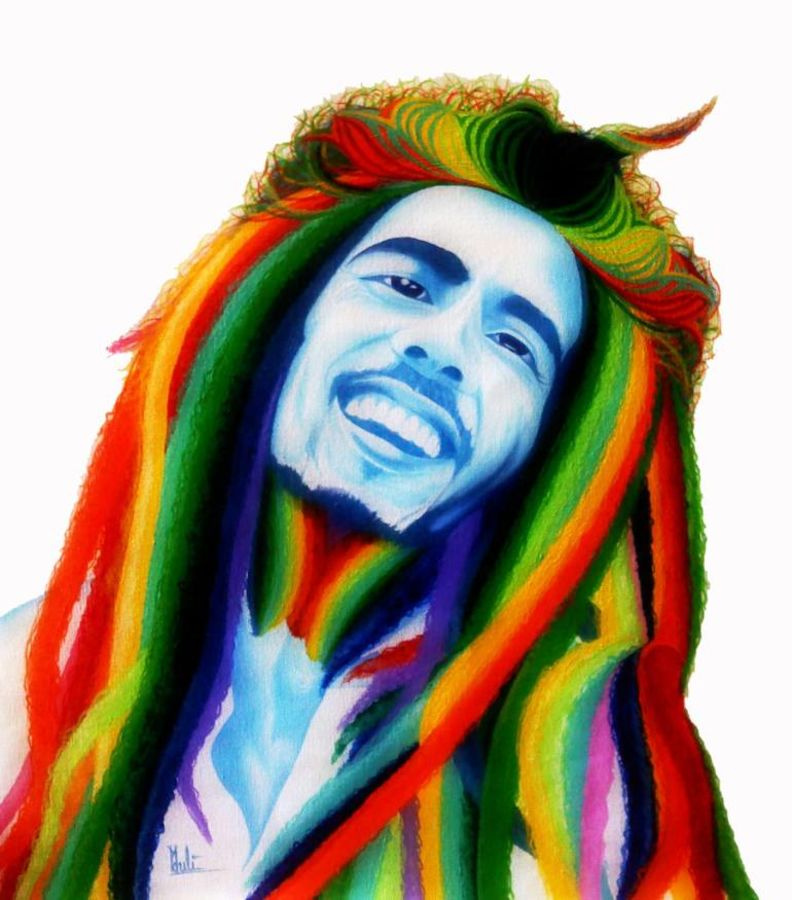 Bob marley color theory technique