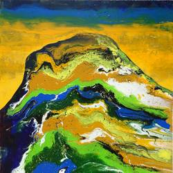 abstract landscape, 30 x 40 inch, nitin dubey,paintings,abstract paintings,paintings for bedroom,paintings for dining room,paintings for living room,paintings for office,paintings for hotel,canvas,acrylic color,30x40inch,GAL043809972