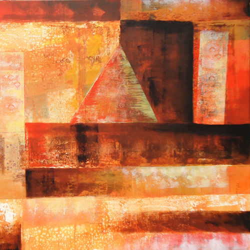 abstract composition, 48 x 36 inch, nitin dubey,paintings,abstract paintings,paintings for office,paintings for dining room,paintings for living room,paintings for bedroom,paintings for hotel,canvas,acrylic color,48x36inch,GAL043809973