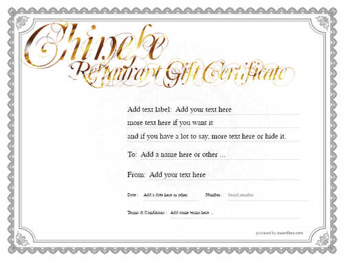 chinese restaurant gift certificate style4 default template image-61 downloadable and printable with editable fields