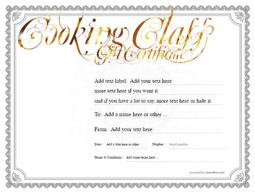 cooking class gift certificate style4 default template image-217 downloadable and printable with editable fields
