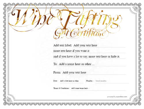 wine tasting gift certificate style4 default template image-269 downloadable and printable with editable fields