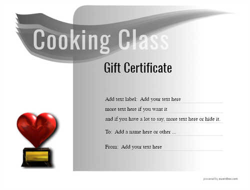 cooking class gift certificate style7 default template image-222 downloadable and printable with editable fields