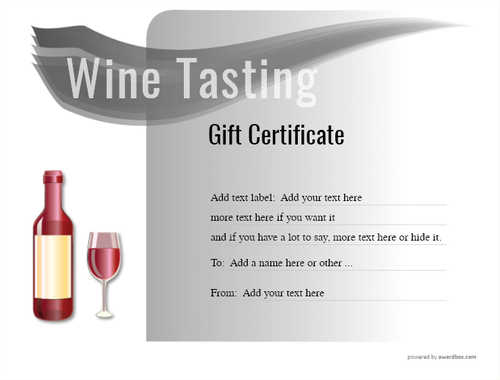 wine tasting gift certificate style7 default template image-274 downloadable and printable with editable fields