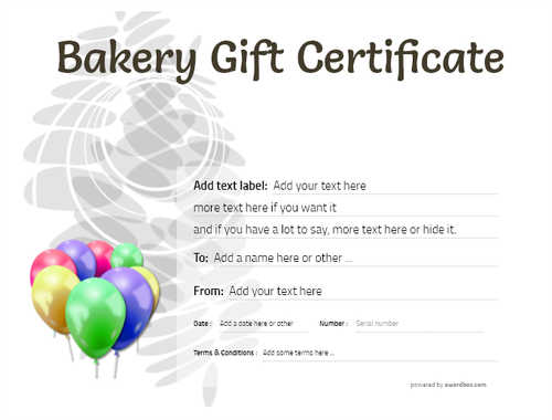 bakery gift certificate style9 default template image-180 downloadable and printable with editable fields