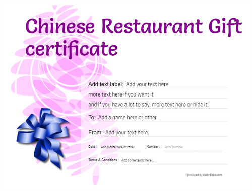 chinese restaurant gift certificate style9 purple template image-74 downloadable and printable with editable fields