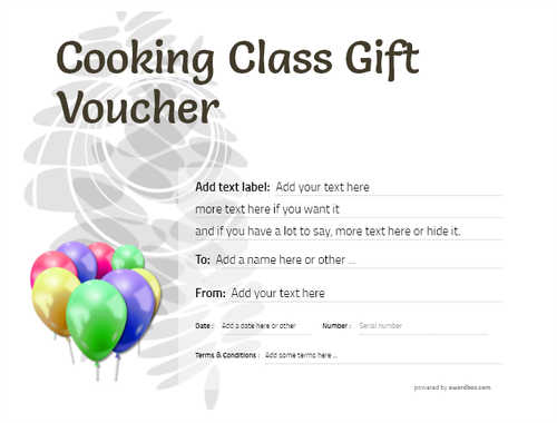 cooking class gift certificate style9 default template image-232 downloadable and printable with editable fields