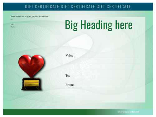 Template For A Gift Certificate from s3.amazonaws.com