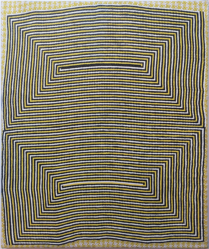 Untitled (large yellow)