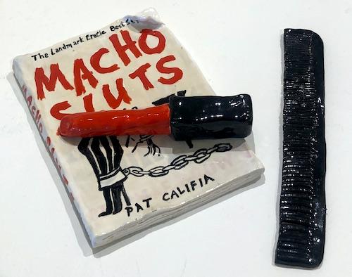 """Lipstick & """"Macho Sluts"""" & Comb set"""