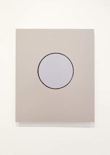 Cercle (taupe, violet, noir), un jour