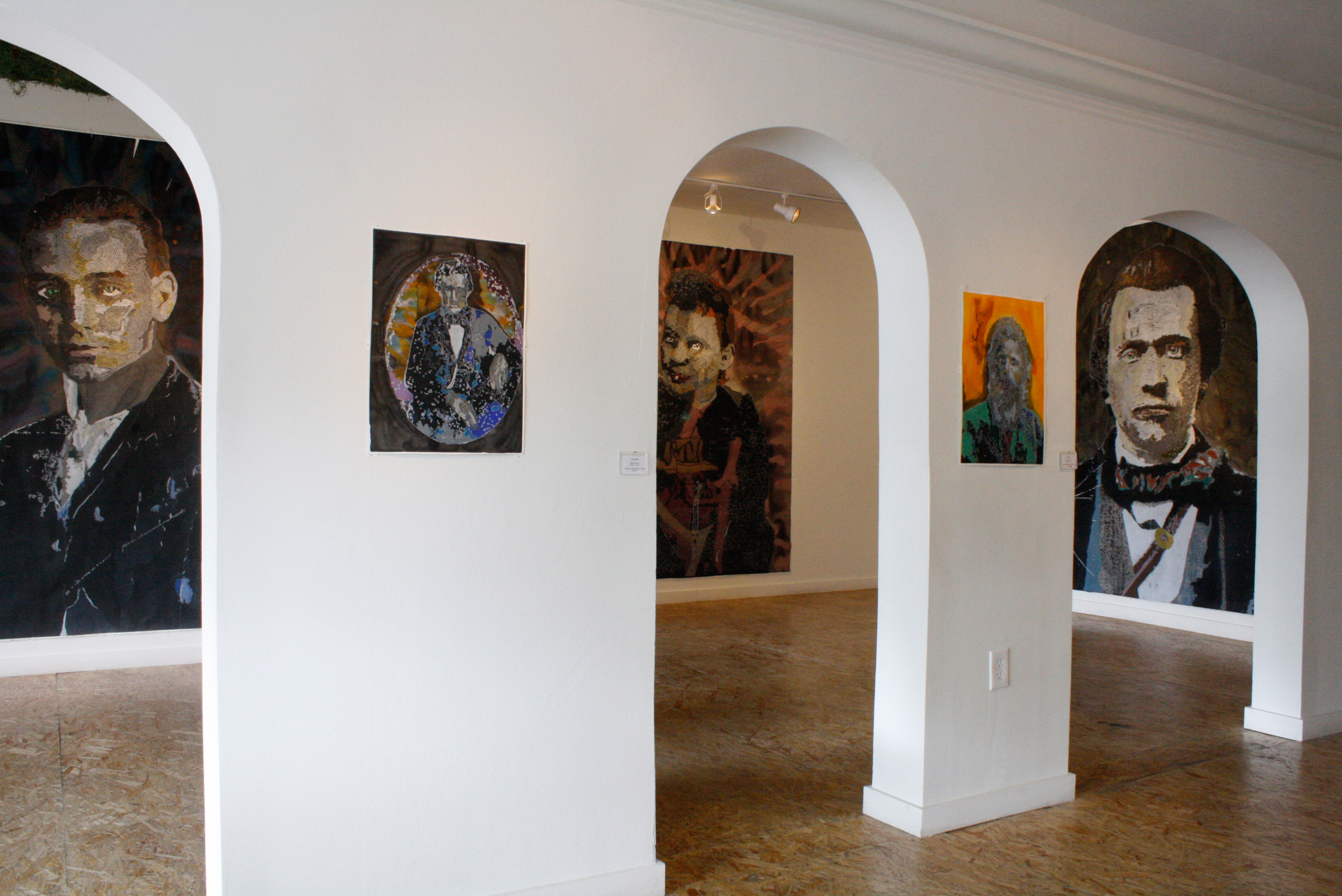 Vampires and Wolf Men (installation view)