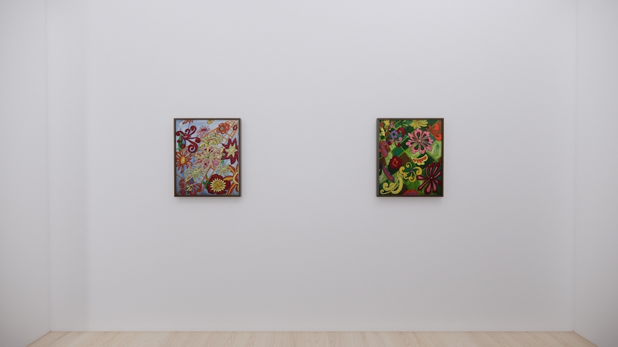 Sturtevant in Blue (Bread and Roses), Sturtevant in Green (Bread and Roses II) // Install Shot 18