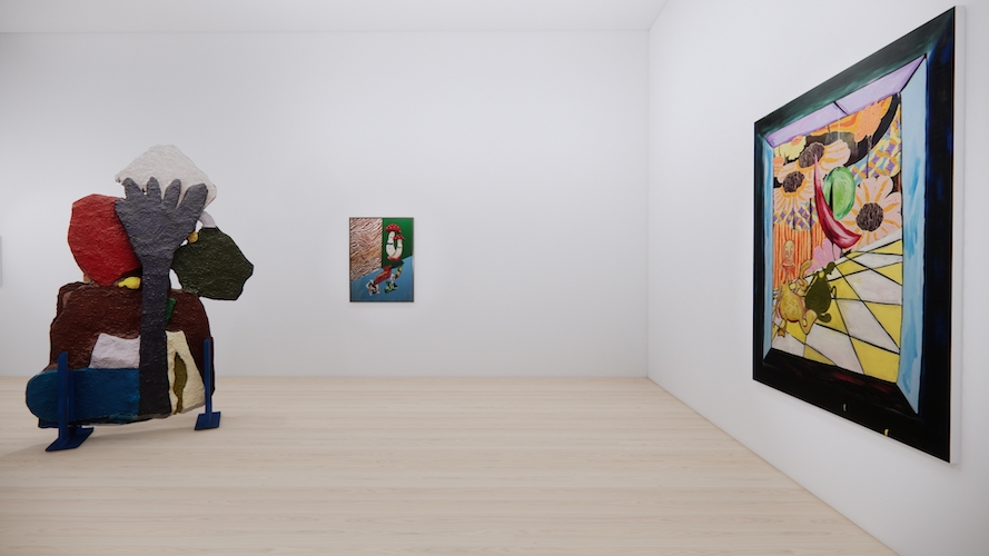 Bluets, Libido Couple On Holiday, Giacometti's Suspended Ball (Uh Oh, Oh No) // Install Shot 35