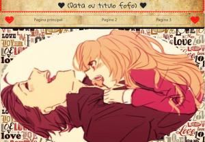 Faço site romântico, para presentear a namorada(a)