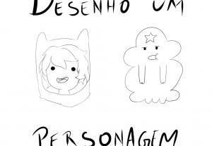 Vou desenhar um personagem que você escolher