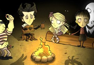 "Vamos jogar Don't Starve ""TOGETHER"" ;)"