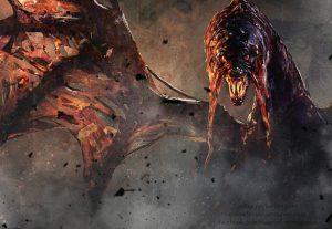 Irei te ajudar a matar qualquer monstro no Monster Hunter World (XBOX ONE)