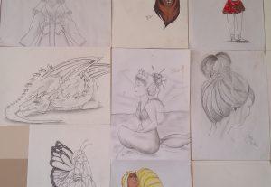 Eu vou desenhar para você :3