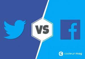 Crio facebook ou twitter para conversar com vc
