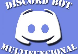 Eu vou criar um Bot multifuncional de Discord para você