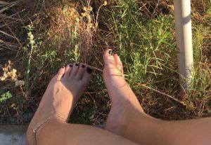 Pack de fotos do meu pé :3
