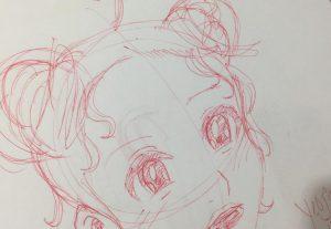 Eu vou desenhar qualquer coisa para você