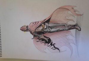 Faço a ilustração de seu personagem