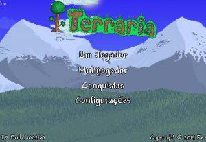 Jogo Terraria Mobile com você e te ajudo a ficar mais forte.