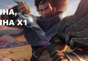 Vou jogar 5 rodadas de x1 no League of Legends com você