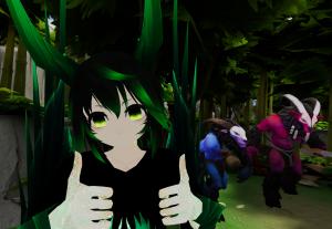 Irei criar um avatar no VRCHAT para você!