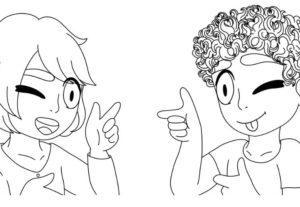 Eu vou desenhar um couple pra você.