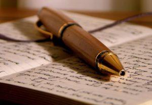 Vou escrever uma história pra você
