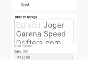 Eu vou jogar Garena Speed Drifters com Você