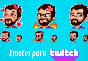 Crio emotes para o seu canal na Twitch!