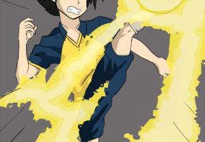 Eu vou fazer um desenho estilo anime para você